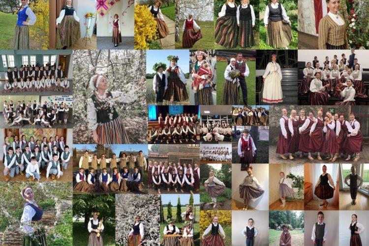 Piedalāmies virtuālā gājienā «Uzvelc tautas tērpu par godu Latvijai»