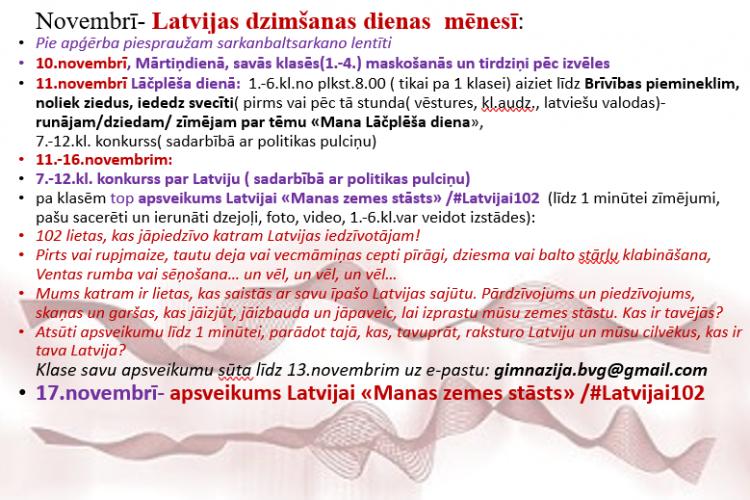 Latvijas dzimšanas dienas mēnesis