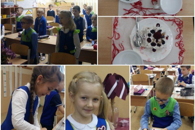1.a klase svin 102. dzimšanas dienu Latvijai