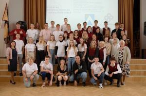 Tikšanās ar Daugavpils 12.vidusskolas jauniešiem